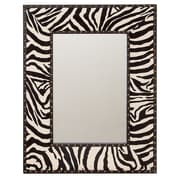 Aspire Zebra Wall Mirror; 31'' H