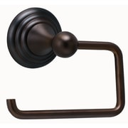 Alno Embassy Wall Mounted Single Post Toilet Paper Holder; Bronze