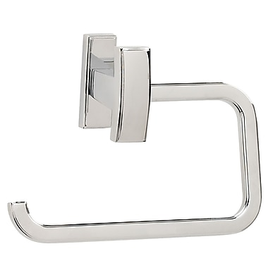 Alno Arch Wall Mounted Single Post Toilet Paper Holder; Polished Chrome