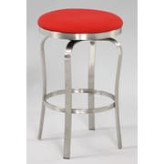 Chintaly Modern 25.98'' Bar Stool; Red