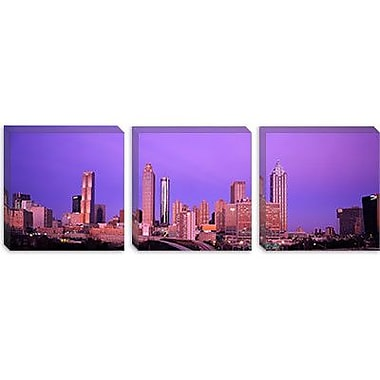 iCanvas Panoramic Skyscrapers in a City, Atlanta, Georgia Photographic Print on Canvas