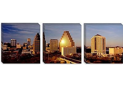 iCanvas Panoramic Skyscrapers in a City, Austin, Texas Photographic Print on Canvas