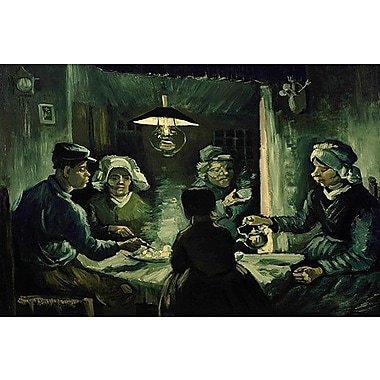iCanvas 'The Potato Eaters' by Vincent Van Gogh Painting Print on Wrapped Canvas