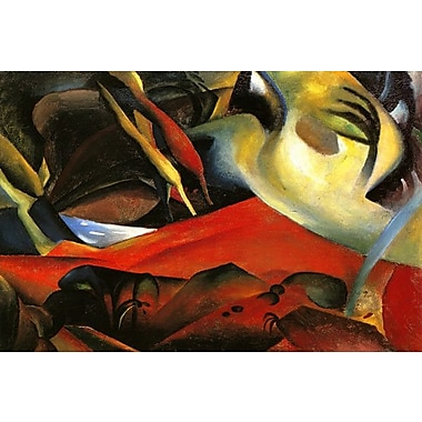 iCanvas 'The Storm 1911' by August Macke Painting Print on Wrapped Canvas; 18'' H x 26'' W x 1.5'' D