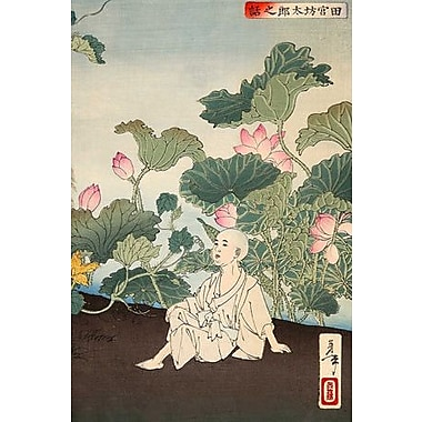 iCanvas Japanese Art 'The Story of Tamiya Botaro' by Yoshitoshi Painting Print on Wrapped Canvas