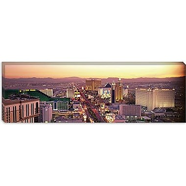 iCanvas Panoramic The Strip, Las Vegas, Nevada Photographic Print on Wrapped Canvas