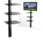 Kanto - Système de tablettes murales pour éléments, 17 po x 14 po, triple