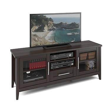 Corliving Tjk-683-B Jackson TV Bench, Espresso Finish