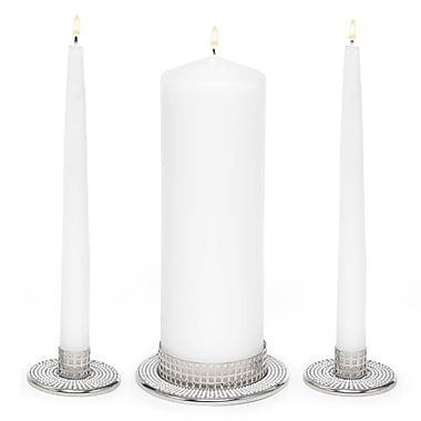 HBH™ Vintage Pearl Candle Stand, White