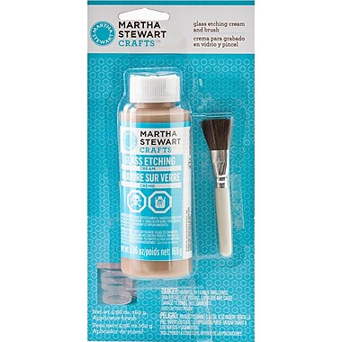 Martha Stewart Crafts® 5.96 oz. Glass Etch Cream With Brush
