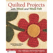 "Design Originals ""Quilted Projects With Wool and Wool Felt"" Book, 8.5"" x 11"" x 0.26"""