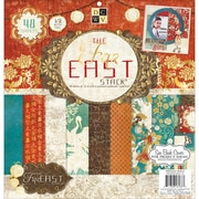 """Diecuts With A View® Far East 2 Paper Stack 12"""" x 12"""", 48 Sheets"""