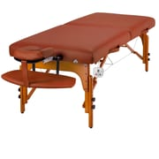 "Master Massage® Santana™ Therma-Top® LX 31"" Portable Massage Table Package, Mountain Red"