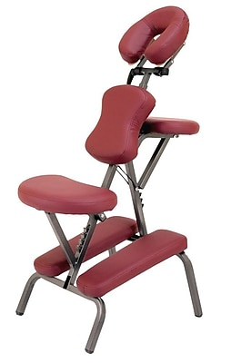 Master Massage® The Bedford™ Portable Massage Chair, Maroon