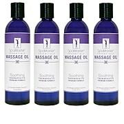 Master Massage® 8 oz. Massage Oil, Soothing, 4/Pack