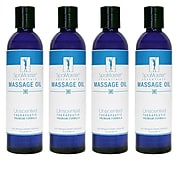 Master Massage® 8 oz. Massage Oil, Unscented, 4/Pack