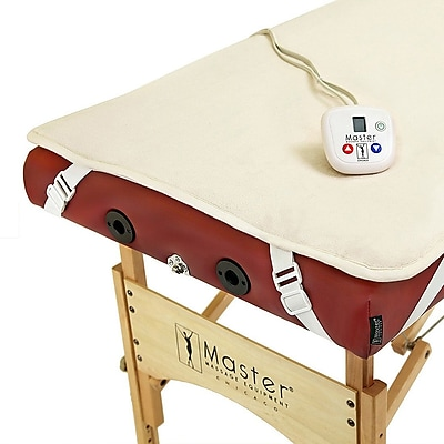 Master Massage® Fleece Table Warming Pad, White