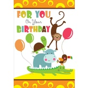 Greeting Cards, For You on Your Birthday, 18/Pack