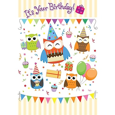Greeting Cards, It's Your Birthday, 18/Pack