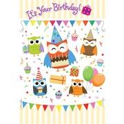 Cartes de souhaits, « It's Your Birthday », 18/paquet