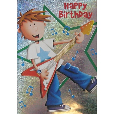 A-Line – Cartes de souhaits, « Happy Birthday », jeune, 18/paquet