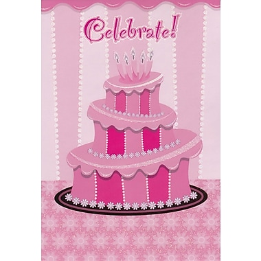 Greeting Cards, Celebrate Birthday, 18/Pack