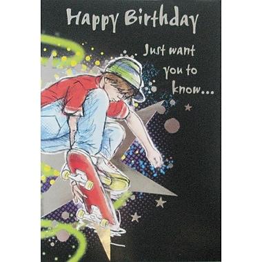 Cartes de souhaits, « Joyeux anniversaire, afin que tu saches que… », paquet de 18
