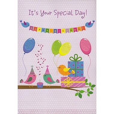 Cartes de souhaits, « C'est ta journée », paquet de 18