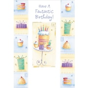 Greeting Cards, Have a Fantastic Birthday, 18/Pack