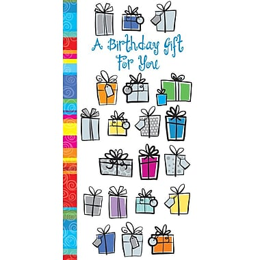 Cartes de souhaits, « A Birthday Gift For You », 18/paquet