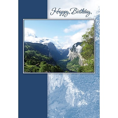 Greeting Cards, Happy Birthday, Nature, 18/Pack