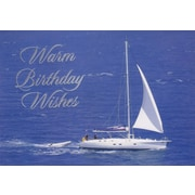 Cartes de souhaits, « Warm Birthday Wishes », 18/paquet