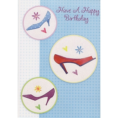 Greeting Cards, Have a Happy Birthday, 18/Pack