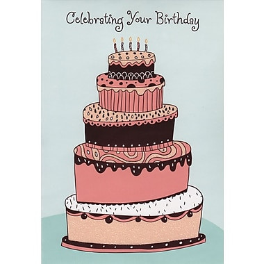 Greeting Cards, Celebrating Your Birthday, 18/Pack