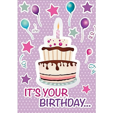 Greeting Cards, It is Your Birthday, 18/Pack