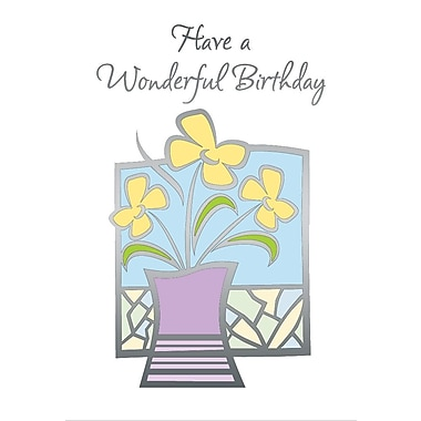 Greeting Cards, Have A Wonderful Birthday, 18/Pack