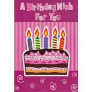 Cartes de souhaits, Un vœu d'anniversaire pour vous, 18/pqt