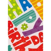 Greeting Cards, Happy Birthday, 18/Pack