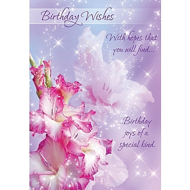 Greeting Cards, Birthday Wishes, Sweet Surprises, 18/Pack