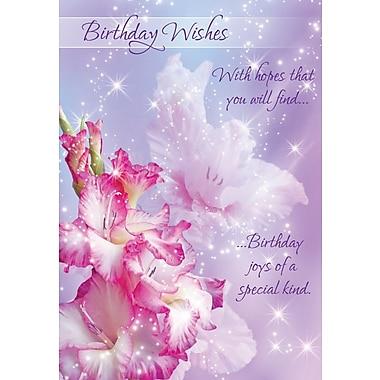 Cartes de souhaits, Vœux d'anniversaire, douces surprises, 18/pqt