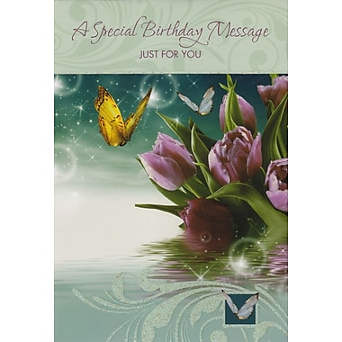 Greeting Cards, A Special Birthday Message Just For You, 18/Pack