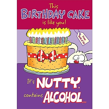 Greeting Cards, A Birthday Cake is Like You!, 18/Pack