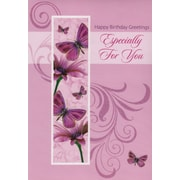 Greeting Cards, Happy Birthday Greetings Especially For You, 18/Pack