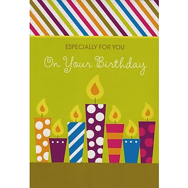 Greeting Cards, Especially For You On Your Birthday, 18/Pack