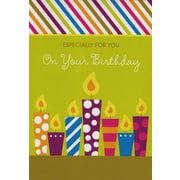 Cartes de souhaits, « Especially For You On Your Birthday », 18/paquet