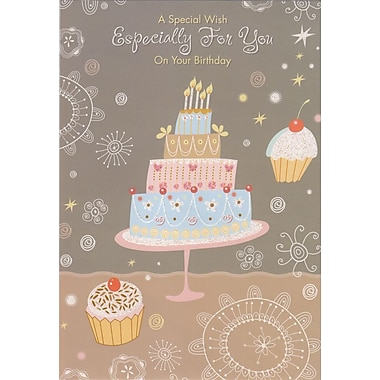 Greeting Cards, A Special Wish Especially For You On Your Birthday, 18/Pack