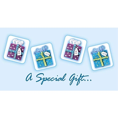 Cartes porte-billet, « A Special Gift for Your Birthday », paquet de 18