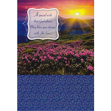Greeting Cards, A Special Wish that God Above, 18/Pack