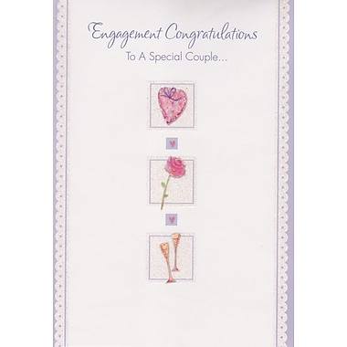 Greeting Cards, Engagement Congratulations, 18/Pack