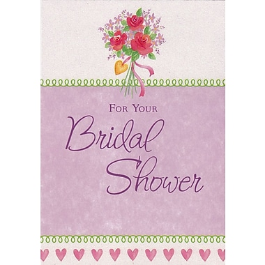 Greeting Cards, For Your Bridal Shower, Floral, 18/Pack